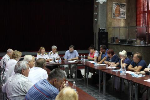 Консультация (семинар) для моряков и членов их семей г.Керчь.